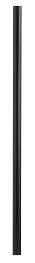 HNK 6611BK BLACK 10' ALUMINUM POST W/PHOTO CELL