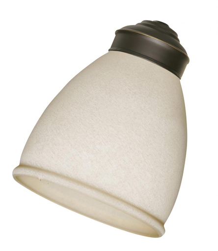 EMN G58 AMBER MIST GLASS SHADE SOLD IN A PACK OF 4!