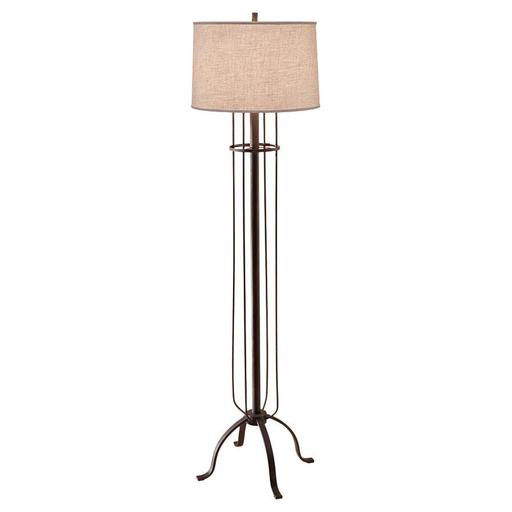 MURF FL6309DRI 1 BULB DARK RUSTIC IRON FLOOR LAMP