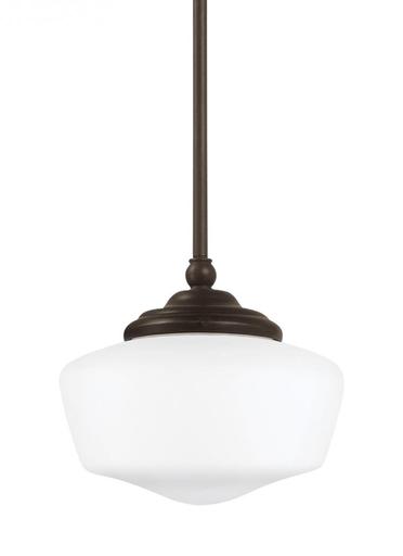 SEG 65436EN-782 SMALL ONE LIGHT PENDANT HEIRLOOM BRONZE