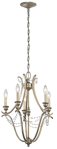 KIC 43607SGD MINI CHANDELIER 5LT