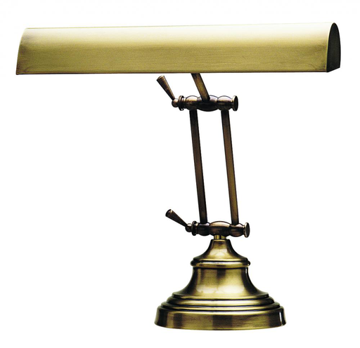 "P14-231-71 DESK/PIANO LAMP 14"""" ANTIQUE BRASS"
