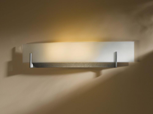 HUF 206410-SKT-10-GG0328 DIRECT WIRE WALL SCONCE WITH GLASS OPTIONS: AXIS LARGE.