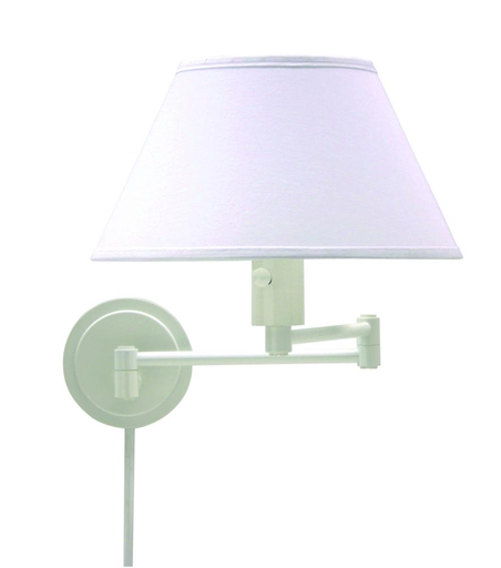 HOT WS14-9 WALL MOUNT SWING LAMP WHITE 1-100 MED
