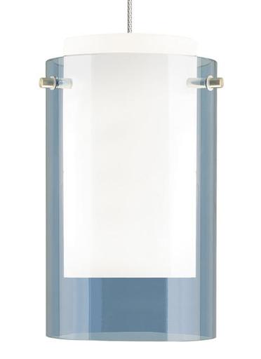 700MPECPUC-LEDS830 MP-Mini Echo Pend stl blu, ch LED