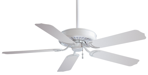 "MINK F571-WH WHITE SUNDANCE 52"" CEILING FAN WET RATED 3-SPEED"