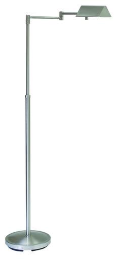 PIN400-SN Satin Nickel Floor Lamp