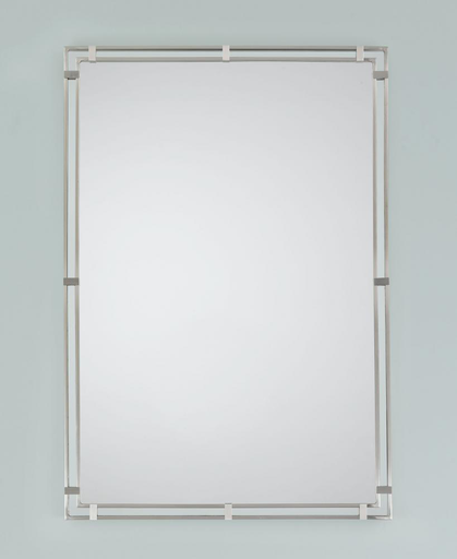 MURF MR1089BS BRUSHED STEEL MIRROR