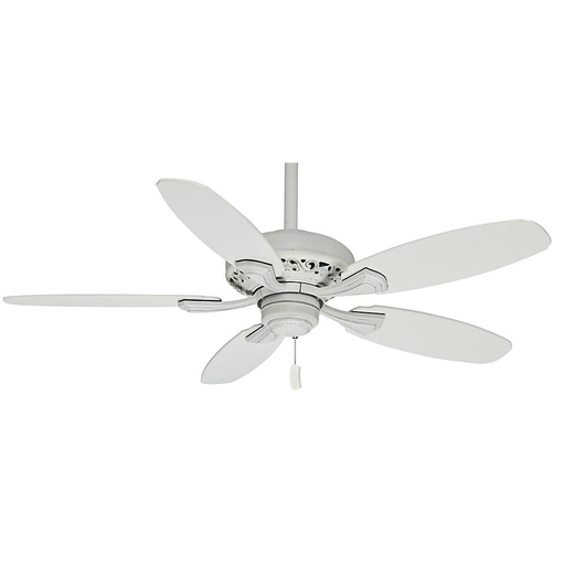 "CAS 53194 44"" FORDHAM COTTAGE WHITE 4-SPEED WITH COTTAGE WHITE BLADES"