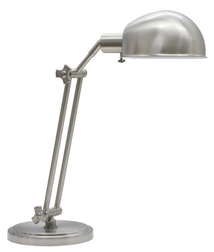 HOT AD450-SN ADDISON ADJ. TABLE LAMP IN A SATIN NICKEL FINISH 1-75W MAX LAMP