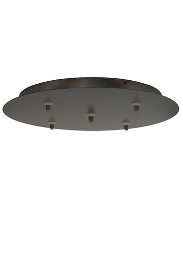 LBL CK005B-FJ-SC-LED FSJ CANOPY 5-LITE RND SN LED
