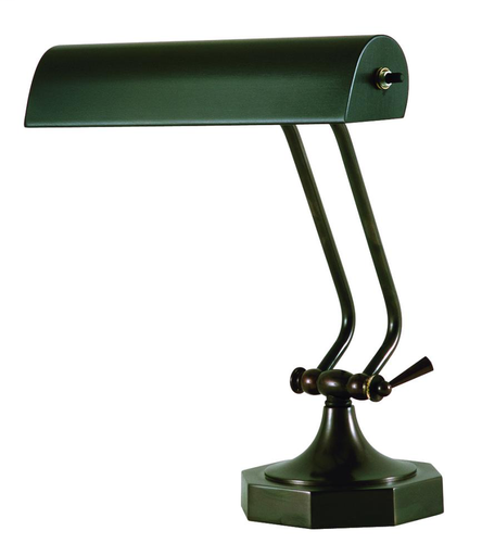 "HOT P10-107-81 DESK/PIANO LAMP (0-10.5""H) (1-40T10 OR 60T10)10"" SHADE"