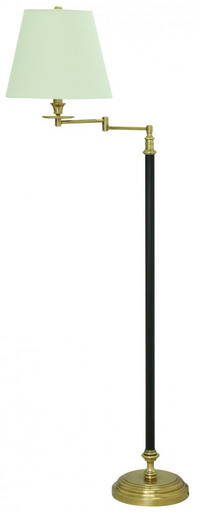 HOT B501-BWB BENNINGTON FLOOR LAMP 150W 3-WAY BLACK/WEATHERED BRASS 61H X 13.5 W