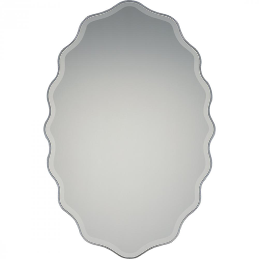 QUO QR2797 ARTISTE SILVER FINISH, LARGE MIRROR