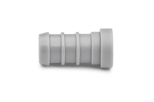 QickSert Polymer Test Plug - 1/2-Inch Barb