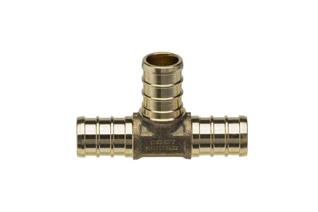 (Crimp) Brass Swivel Adapter - 1-Inch Barb x 1-Inch FPT Brass Swivel Nut